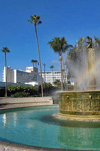 Beverly Hilton Hotel in Beverly Hills, California. [Photo Credit: LAtourist.com]