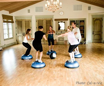 Cal-a-Vie Health Spa fitness resort in Vista, near Carlsbad, California. [Photo Credit: Cal-a-Vie]