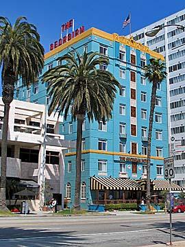 The Georgian Hotel in Santa Monica. Hotel Reservations in Santa Monica, Ocean Park and Los Angeles. [Photo Credit: LAtourist.com]