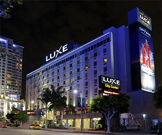 Luxe City Center in Downtown Los Angeles. [Photo Credit: LAtourist.com]