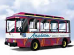 Anaheim Resort Transit System. [Photo Credit: Anaheim Resort Transit System]