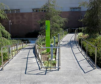 Wheelchair Path at Grand Park in downtown Los Angeles. [Photo Credit: LAtourist.com]