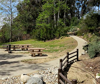 Accessible Trail at Kenneth Hahn Recreation Area. [Photo Credit: LAtourist.com]