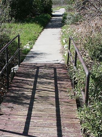 Accessible Trail at Placerita Canyon Park, in Santa Clarita, California. the trail leads to the Oak of the Golden Dream. [Photo Credit: LAtourist.com]