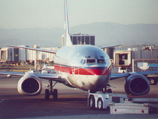 Aircraft being serviced at Los Angeles International Airport. [Photo Credit: LAtourist.com]