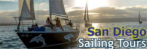 San Diego Sailing Tours Tickets. [Photo Credit: San Diego Sailing Tours]