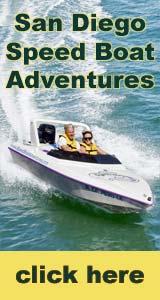 San Diego Speedboat Harbor Tour Tickets