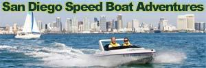 San Diego Speedboat Harbor Tour Tickets. [Photo Credit: San Diego Speedboat]
