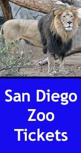 San Diego Zoo Tickets