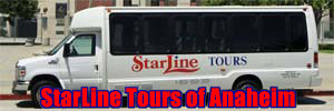 Starline Anaheim Tour Tickets. [Photo Credit: LAtourist.com]