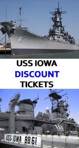 USS Battleship Iowa Museum & Tour Tickets