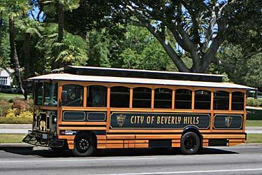 Beverly Hills Trolley Tour. [Photo Credit: LAtourist.com]