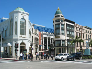 Two Rodeo on Rodeo Drive in Beverly Hills. [Photo Credit: LAtourist.com]