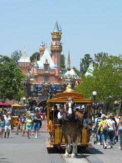 Main Street in Disneyland. [Photo Credit: LAtourist.com]
