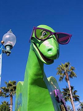 Dinosaur at California Adventure near Disneyland, Anaheim, California. [Photo Credit: LAtourist.com]