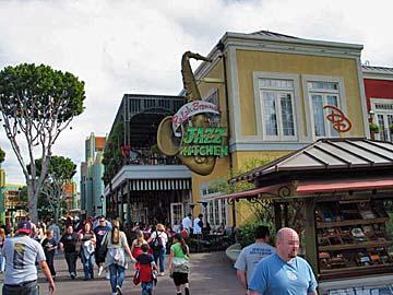 Shops and Restaurants at Downtown Disney. [Photo Credit: LAtourist.com]