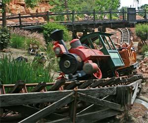 Big Thunder Mountain Railroad at Disneyland. [Photo Credit: LAtourist.com]