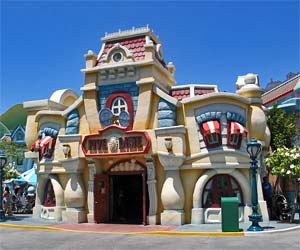 Mickey's Toontown at Disneyland. [Photo Credit: LAtourist.com]