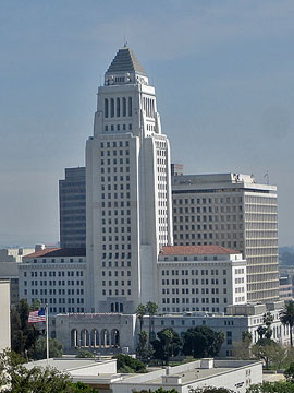 City Hall in Downtown Los Angeles. [Photo Credit: LAtourist.com]