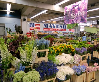 Inside the L.A. Flower Market in downtown Los Angeles. [Photo Credit: LAtourist.com]