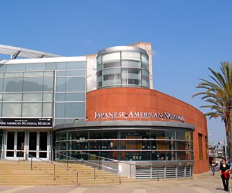 Japanese American National Museum in the Little Tokyo district in downtown Los Angeles. [Photo Credit: LAtourist.com]