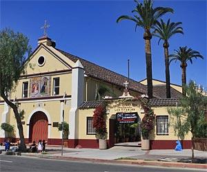 La Placita: Nuestra Senora Reina de Los Angeles, near El Pueblo Park in downtown L.A. [Photo Credit: LAtourist.com]