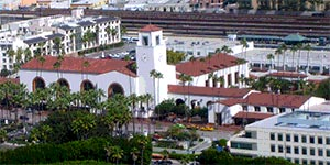 Attractions Near Union Station and Chinatown, including the Union Station Metro train station in Downtown Los Angeles. [Photo Credit: LAtourist.com]