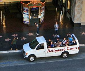 Hollywood Exchange Tours on Hollywood Blvd. [Photo Credit: LAtourist.com]