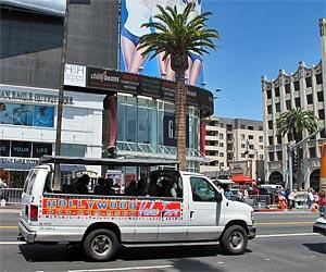 Hollywood Value Tours on Hollywood Boulevard. [Photo Credit: LAtourist.com]