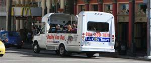 LA City Tours on Hollywood Boulevard. [Photo Credit: LAtourist.com]