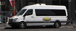 Sunseekers Tours on Hollywood Boulevard. [Photo Credit: LAtourist.com]