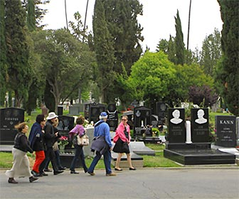 Guided Walking Tour at Hollywood Forever Cemetery. [Photo Credit: LAtourist.com]