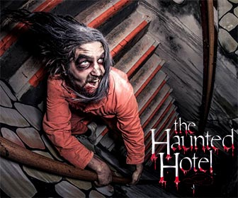 The Haunted Hotel Halloween Attraction near San Diego, Halloween Events. [Photo Credit: The Haunted Hotel]