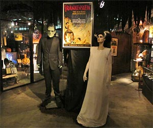 Exhibits in the Dungeon of Doom at the Hollywood Museum near Hollywood Boulevard and Highland Avenue. [Photo Credit: LAtourist.com]