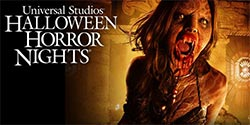 Theme parks such as Universal Studios, Disneyland and Knott's Berry Farm, which offer special Halloween attractions, exhibits and decorations. [Photo Credit: Universal Studios]