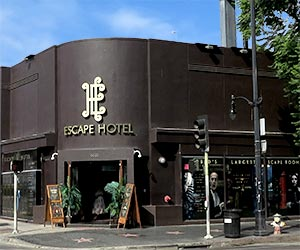 Escape Hotel Hollywood on Hollywood Boulevard. [Photo Credit: LAtourist.com]