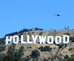 Helicopter Tour in Hollywood. [Photo Credit: LAtourist.com]