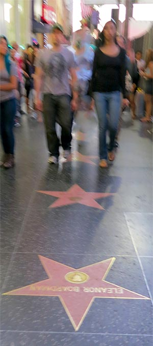 Walking on Hollywood Boulevard in Los Angeles. [Photo Credit: LAtourist.com]
