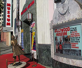 Marilyn Monroe statue outside of the Hollywood Museum on Highland Avenue near Hollywood Boulevard in Los Angeles, California. [Photo Credit: LAtourist.com]