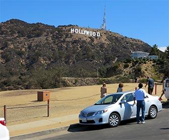 Hollywood Sign at Canyon Lake Park, Los Angeles California. [Photo Credit: LAtourist.com]