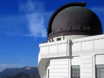 Hollywood Sign from the Griffith Park Observatory. [Photo Credit: LAtourist.com]