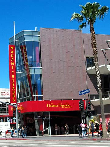 Madame Tussauds on Hollywood Boulevard in Los Angeles, California. [Photo Credit: LAtourist.com]