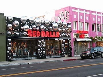 Red Balls Shop on Melrose Avenue. [Photo Credit: LAtourist.com]