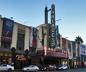 El Capitan Theatre on Hollywood Boulevard near Vine Street. [Photo Credit: LAtourist.com]