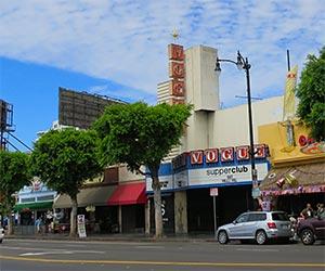 Vogue Theater on Hollywood Boulevard. [Photo Credit: LAtourist.com]
