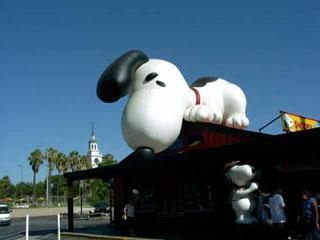 Snoopy at Knott's Berry Farm. [Photo Credit: LAtourist.com]