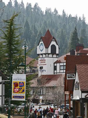 Lake Arrowhead Village. [Photo Credit: Lake Arrowhead Village]