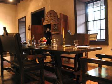 Avila Adobe Kitchen Restoration Exhibit at Olvera Street in Downtown Los Angeles. [Photo Credit: LAtourist.com]