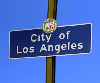 City of Los Angeles Street Sign. [Photo Credit: LAtourist.com]