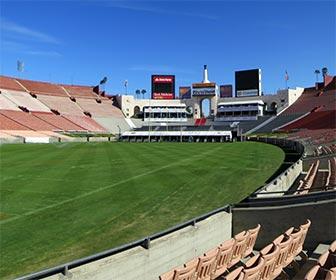 Los Angeles Memorial Coliseum. [Photo Credit: LAtourist.com]